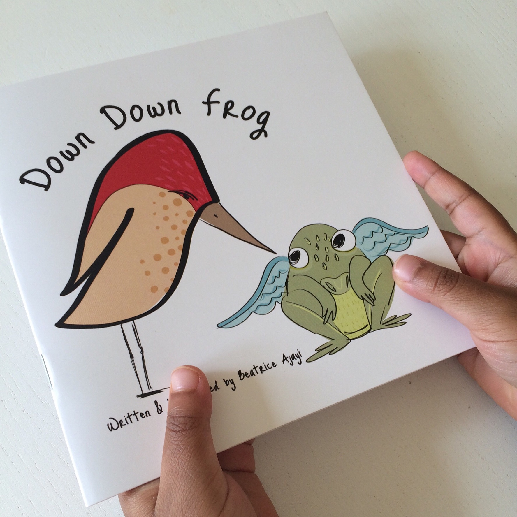Down Down Frog
