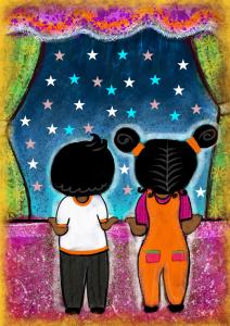 Two Twinkling Stars